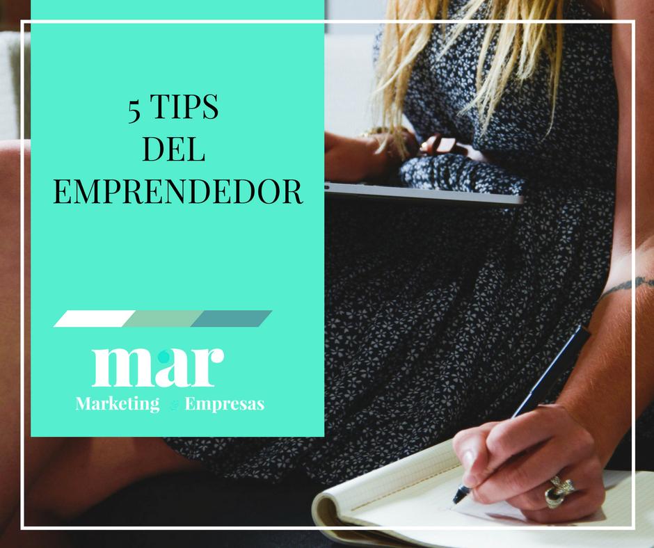5 Tips del Emprendedor